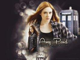Amy Pond by LeavesFallingUp14