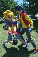 Beyblade V Force Cosplay by TechnoRanma