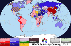 Politics by Country, 2013 by Iori-Komei