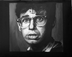 Rick Moranis my painting by cliford417
