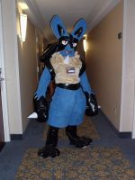 my Lucario Cosplay 3 by Lanmana