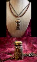 Deadly Nightshade Steampunk Jewelry #10 by DarcarinJewelry