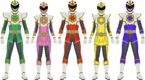 Bitoku Sentai Naitoger: Crusader Modes by Omega-King-DX