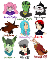 Lots of OCs! by shortini