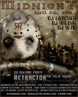 Retractor CD Release Party by Valdyr