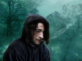 Severus Snape: Tired by Simulcika