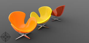 More chairs by HereticTemplar
