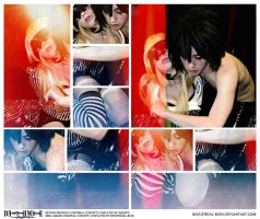 Death Note: Beyond Birthday x Misa: Pain and Blood by Redustrial-Ruin