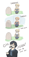 SHERLOCK: OH JOHN by Randomsplashes