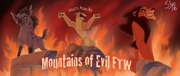 mountain of evil FTW by TC-96