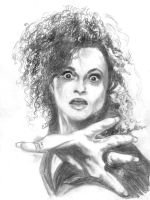 Bellatrix Lestrange by Sweetrosali