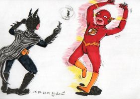 BatFlash for my twin by 1Kasumi