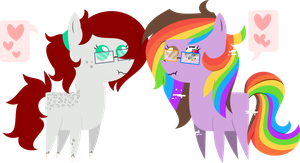Horses BBBFF by DayDreamSyndrom