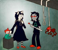 Homestuck: Defense and Prosecution by sqbr