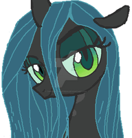 Queen Chrysalis- Sexy Look by TheGhostHuntress