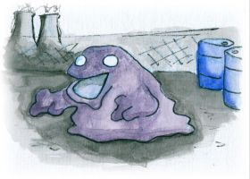 Muk Sketch Card by melllic