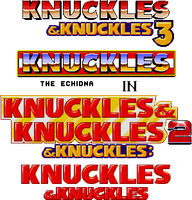 Knuckles and Knuckles 3 by TheZeroTeam