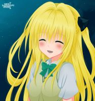 To Love Ru  - Yami is smiling! by NickLeon5