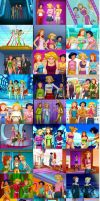 Totally Spies Tribute by Tragould