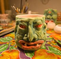 TWO EYED GREEN OGRE by CorazondeDios