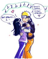 NaruHina: Dance by lauraneato
