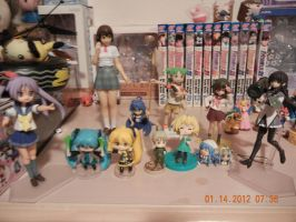 My awesome figures :D by PuellaMagiKazumi