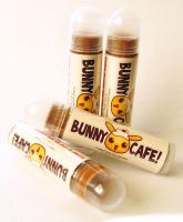 Bunny Cafe Vegan Lip Balm by xlilbabydragonx