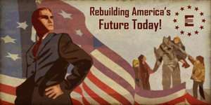 Rebuilding America's Future Today! by FalloutPosters