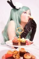 VOCALOID: Cupcake kisses by Blackcrane56