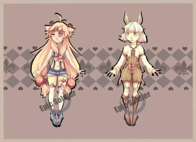 Humanoid adoptables 3(closed) by Epic-Soldier