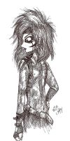Andy Sixx in Ink Pen by erondagirl