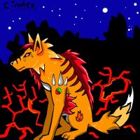 Fire wolf - Cinder by canned-sardines