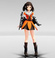 Kan Colle - Sendai MMD download by Reon046