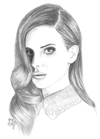Lana Del Rey. by DeadlyAngel-Drawings