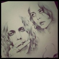 Ville Valo Portraits by TheXes