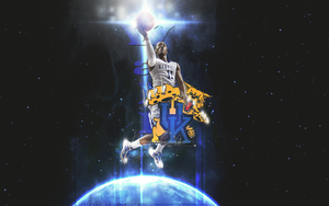 John Wall Wallpaper Two by KevinsGraphics