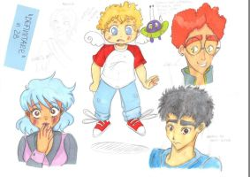 other main characters by Cipple