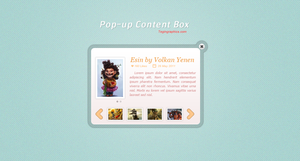 Pop up Content Box by SuTegin
