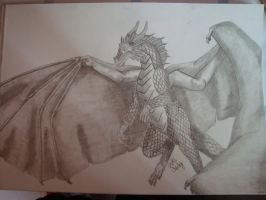 flying dragon by Zoey-01