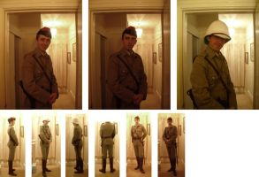 Boer War uniform by GeneralVyse