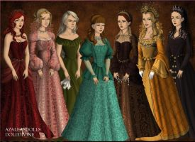The Seven Sins by DaughterGothel