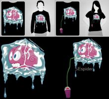2 Brain Freeze Tshirts by SEspider