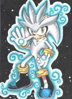 Contest: Silver the hedgehog by sonicxamy09