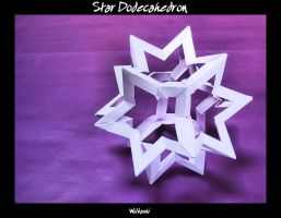 Star Dodecahedron by wolbashi