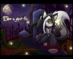AT Eldon the ghost-fox by Extra-Fenix