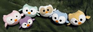 Owlies by swallowtt
