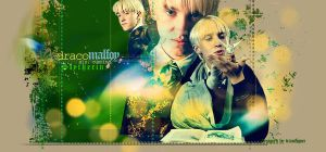 Misc. Draco Malfoy banner by midwinter-dreams
