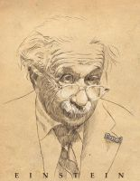 Albert Einstein by MAROK-ART