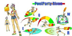 Pool Party Riven by emiliano-roku