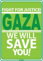 Save Gaza by 9ant